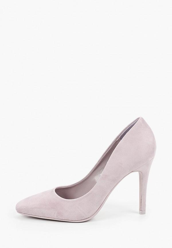 женские туфли-лодочки ideal shoes, фиолетовые