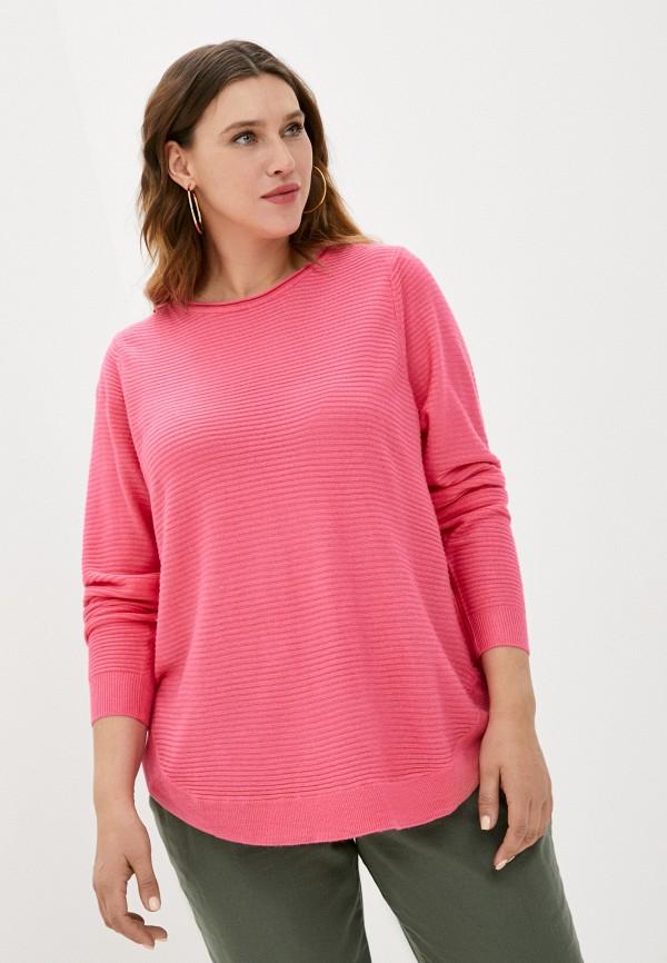 женский джемпер zizzi, розовый
