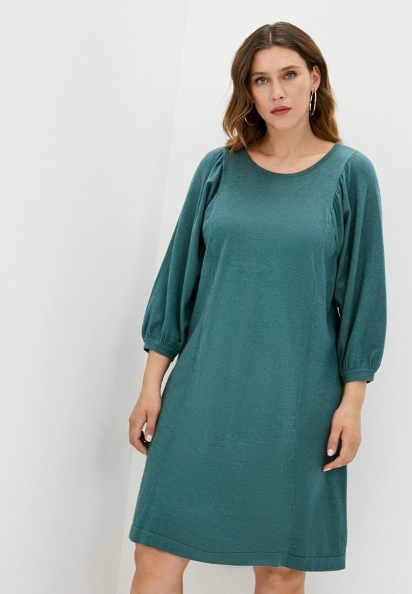 женское платье zizzi, зеленое