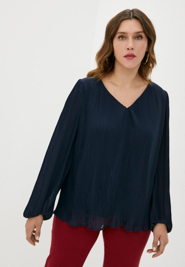 женская блузка zizzi, синяя