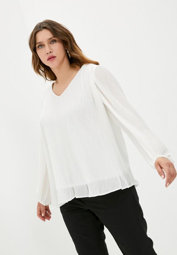 женская блузка zizzi, белая