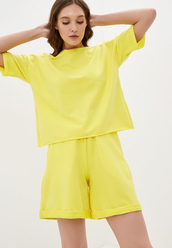 женский спортивный костюм pinkkarrot, желтый