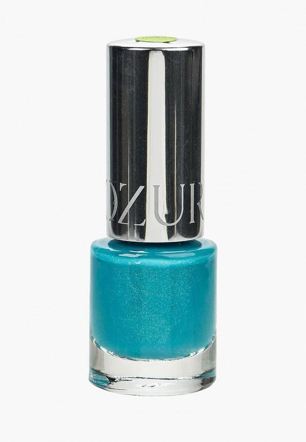 женский лак для ногтей yllozure, бирюзовый