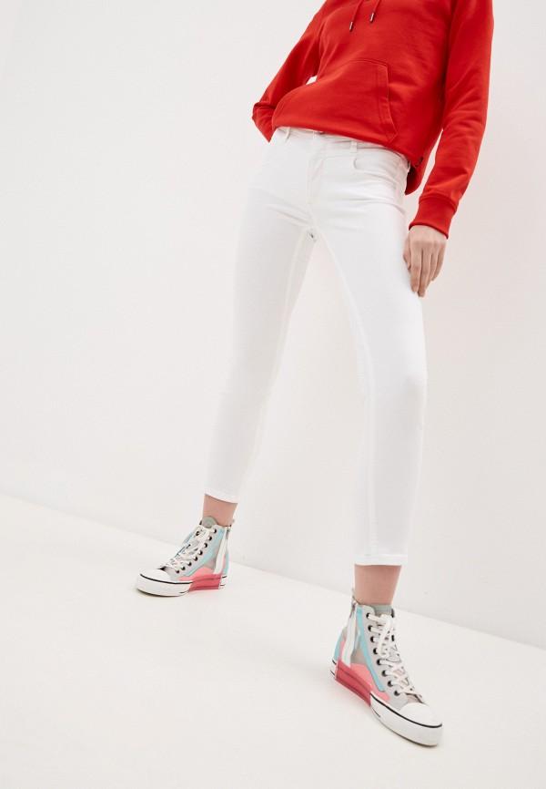 женские джинсы скинни calvin klein, белые