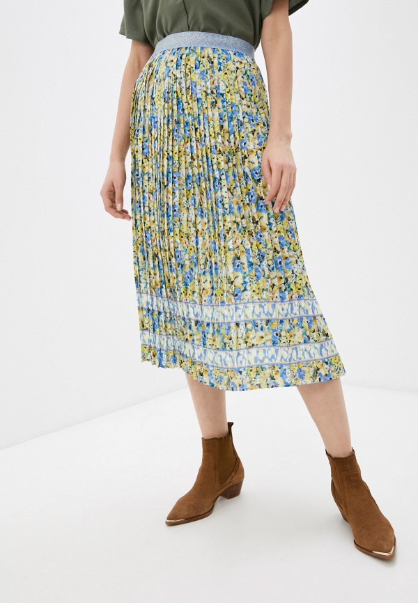 женская плиссированные юбка rich&royal, разноцветная