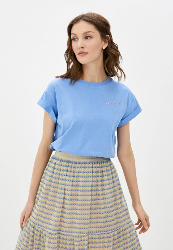 женская футболка rich&royal, голубая