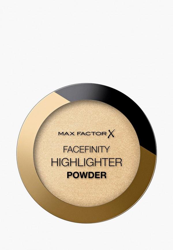 женская пудра max factor, бежевая