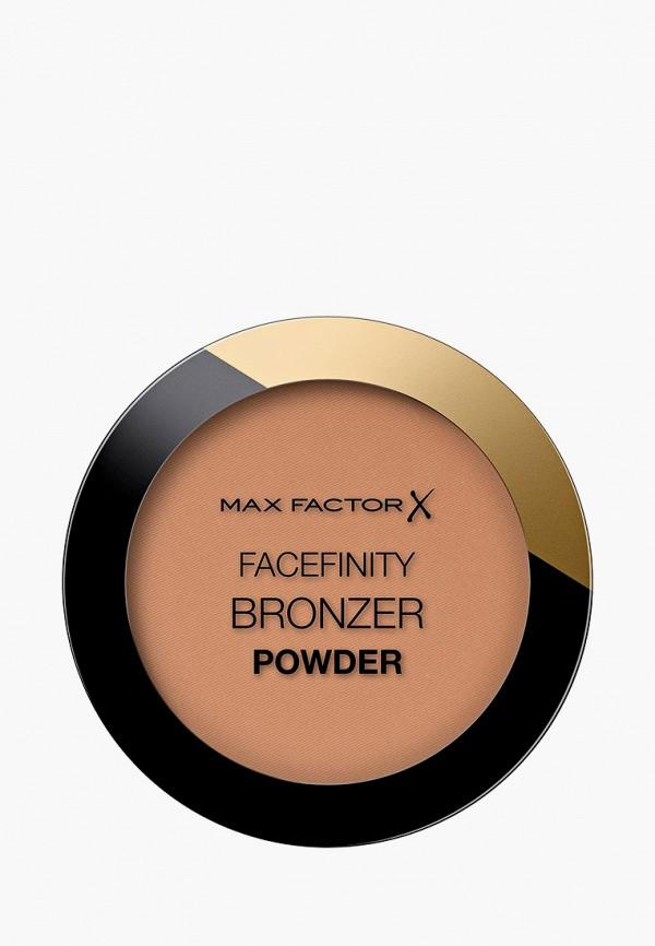 женская пудра max factor, коричневая