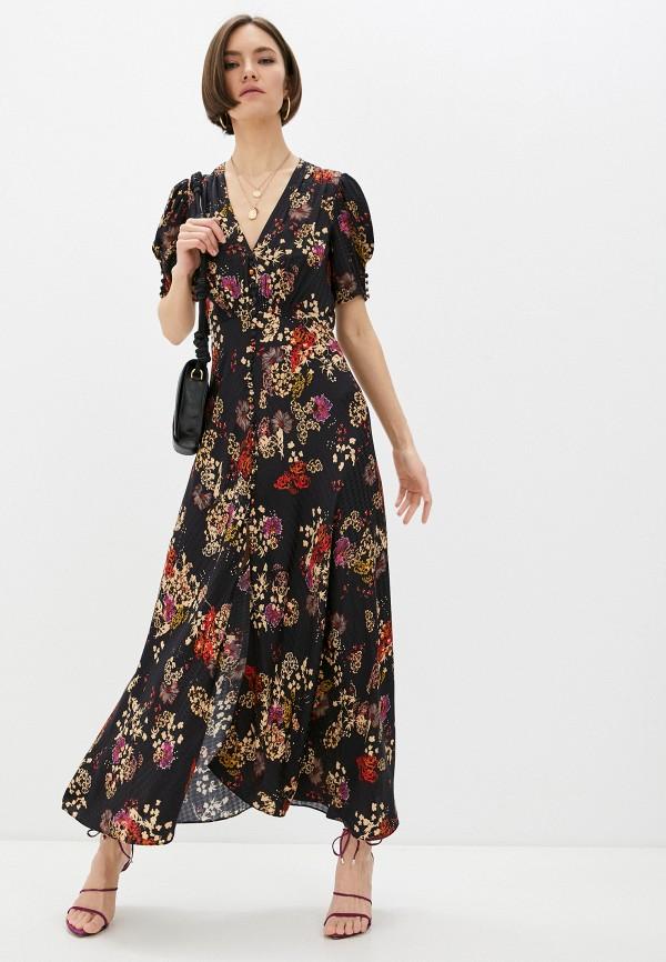 женское повседневные платье saloni, черное