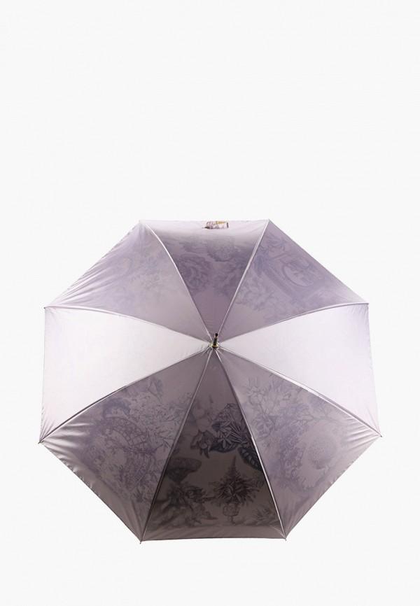 женский зонт fabretti, розовый