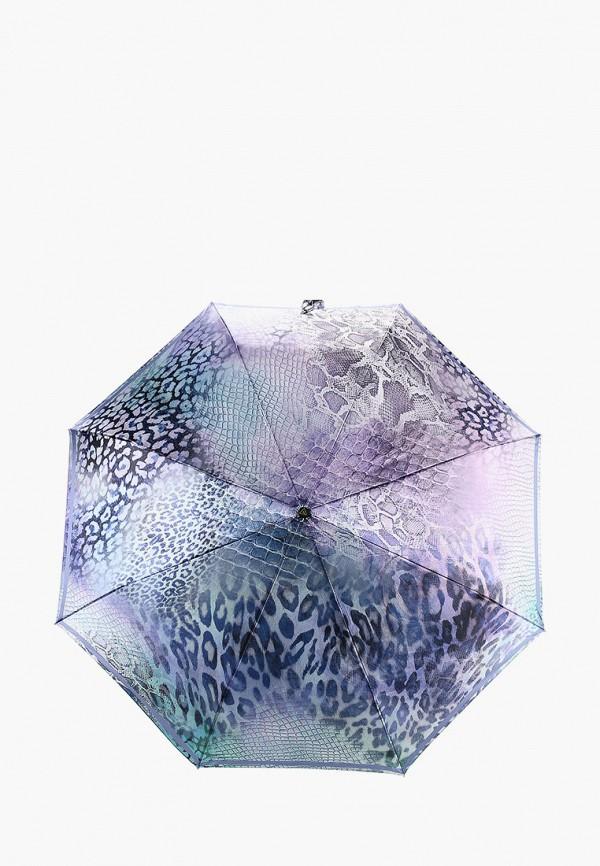 женский складные зонт fabretti, фиолетовый