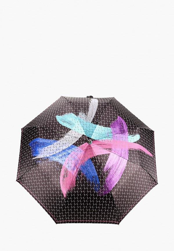 женский зонт fabretti, разноцветный