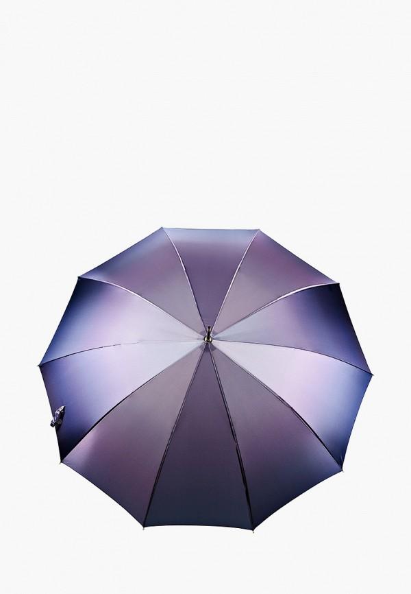 женский зонт-трости fabretti, фиолетовый
