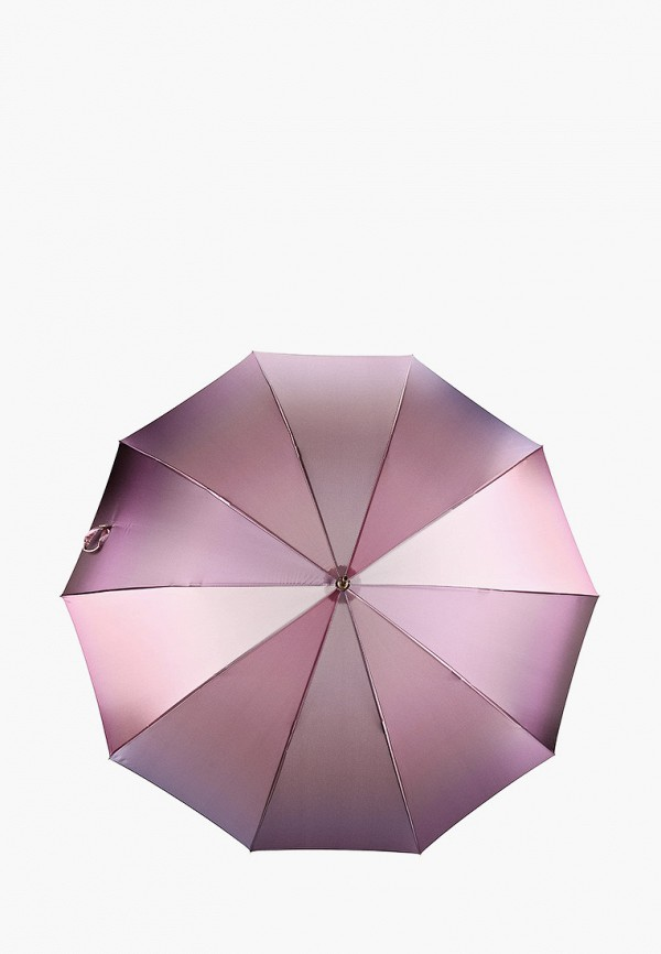 женский зонт-трости fabretti, розовый