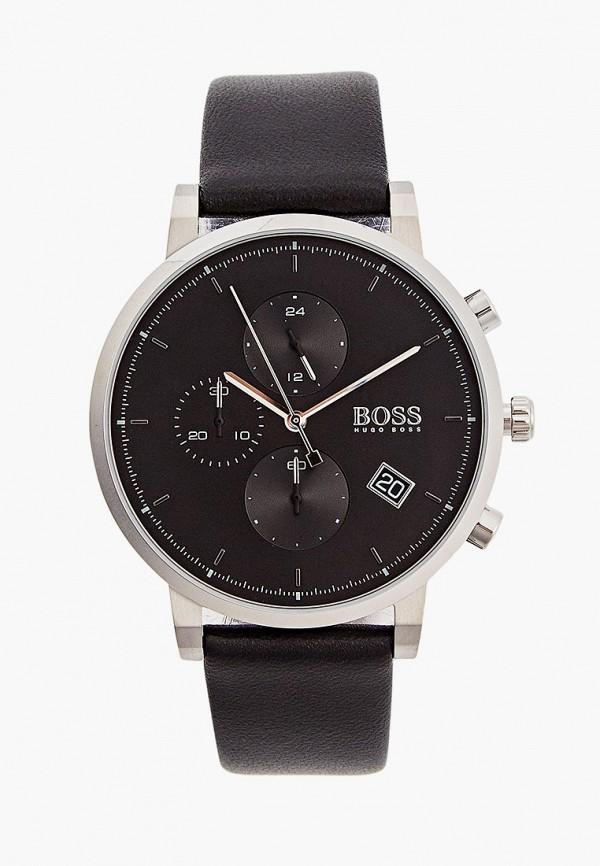 женские часы boss, черные