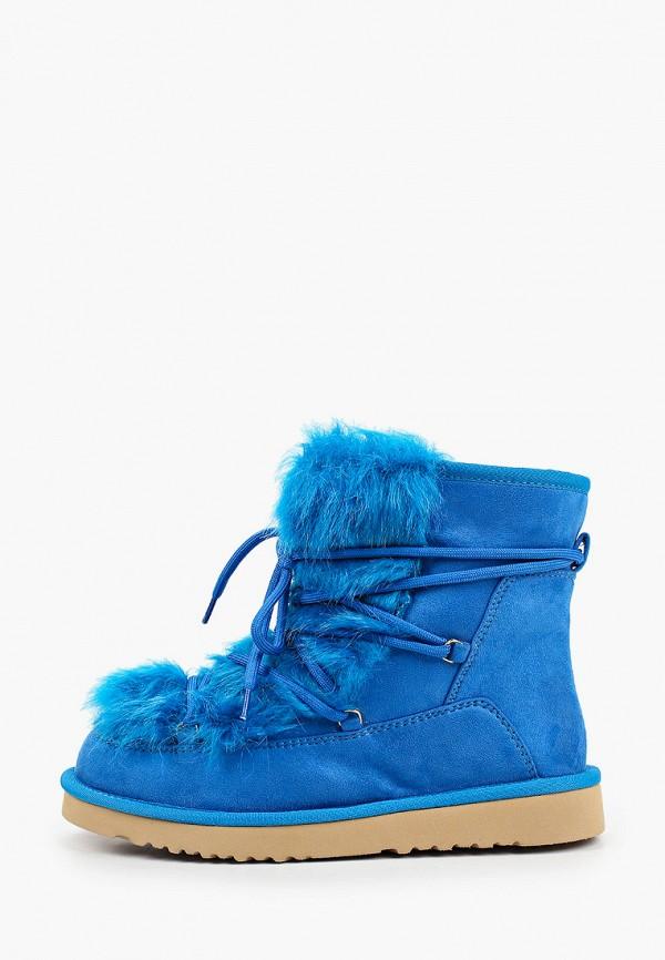 женские унты tosca blu, синие
