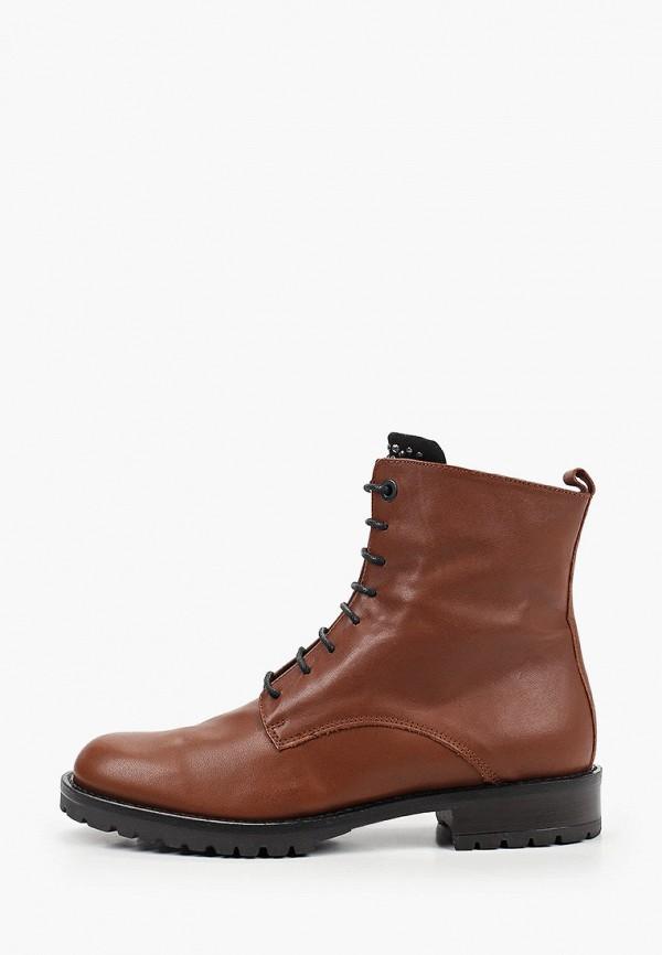 женские ботинки tosca blu, коричневые