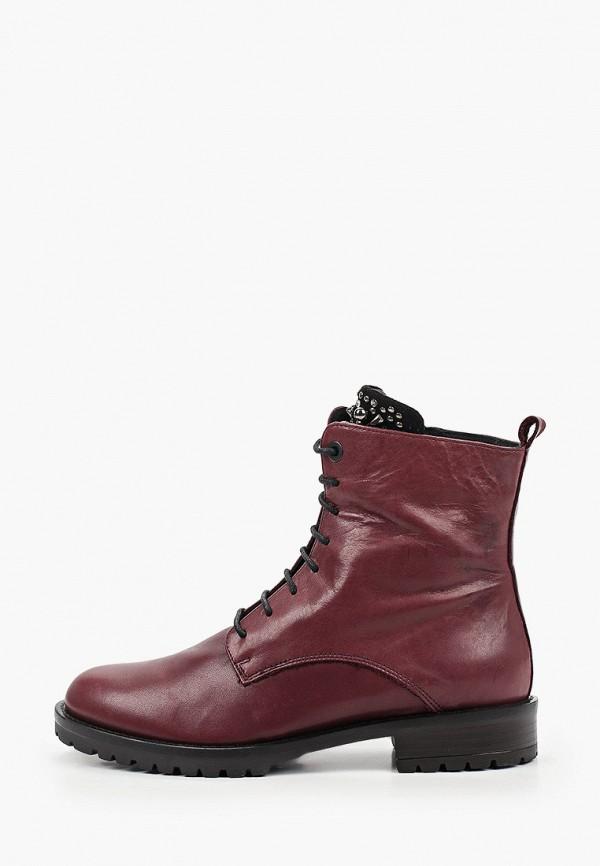женские ботинки tosca blu, бордовые