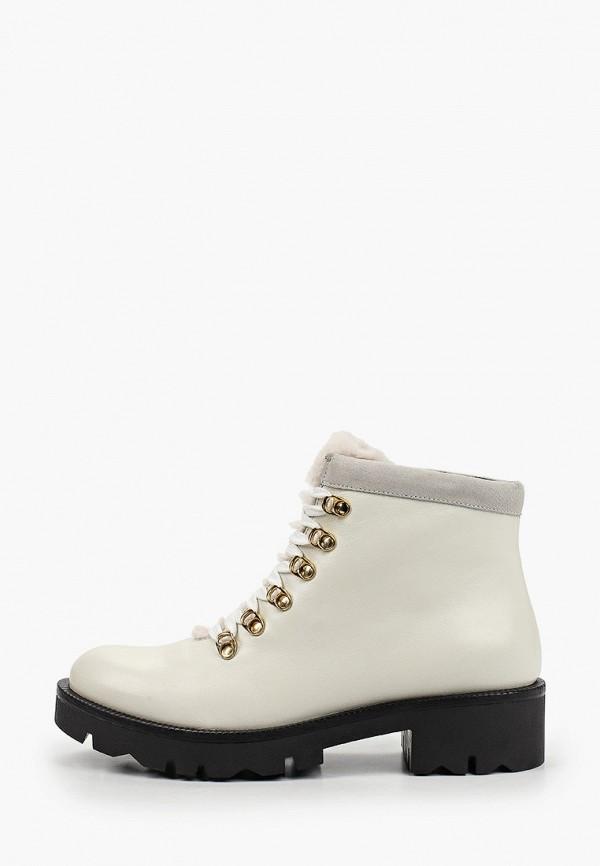 женские высокие ботинки tosca blu, белые
