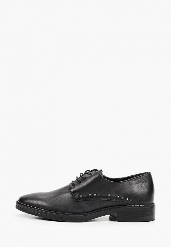 женские ботинки-оксфорды tosca blu, черные