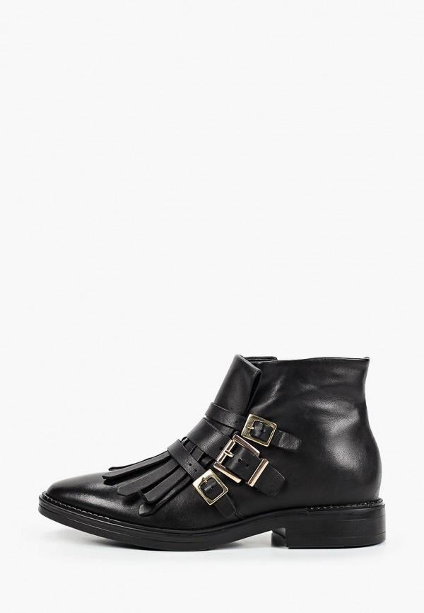 женские высокие ботинки tosca blu, черные
