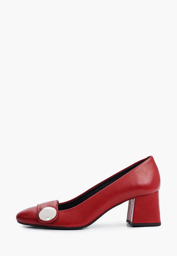 женские туфли tosca blu, красные