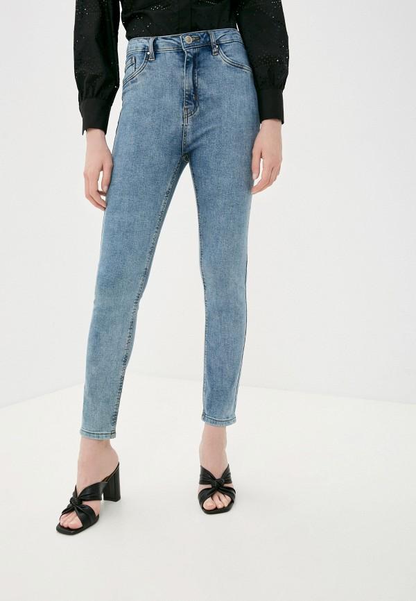 женские джинсы pink woman, голубые