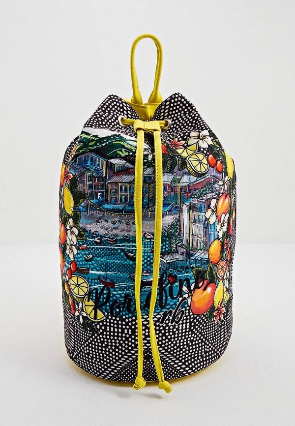 женский рюкзак roccobarocco, разноцветный