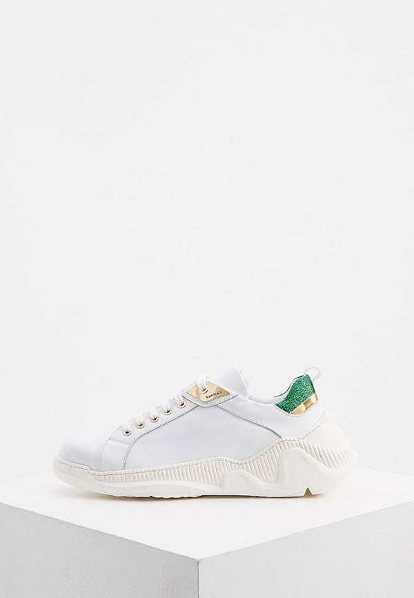 женские низкие кроссовки roberto botticelli, белые