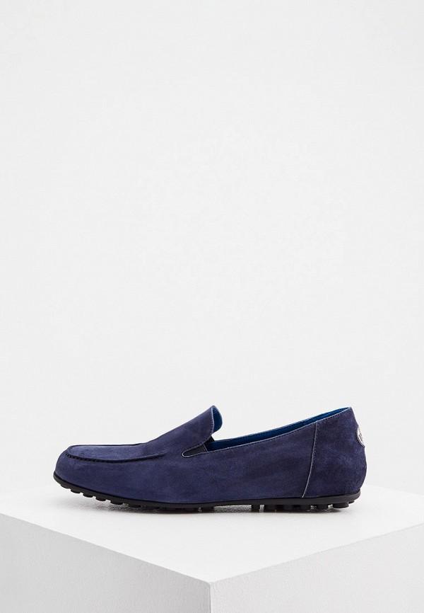 мужские мокасины roberto botticelli, синие