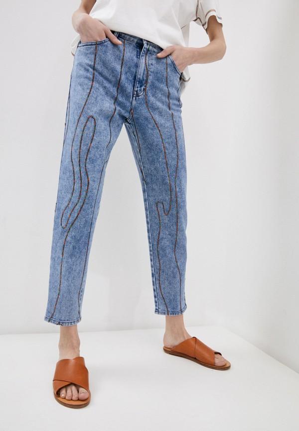 женские джинсы m missoni, голубые
