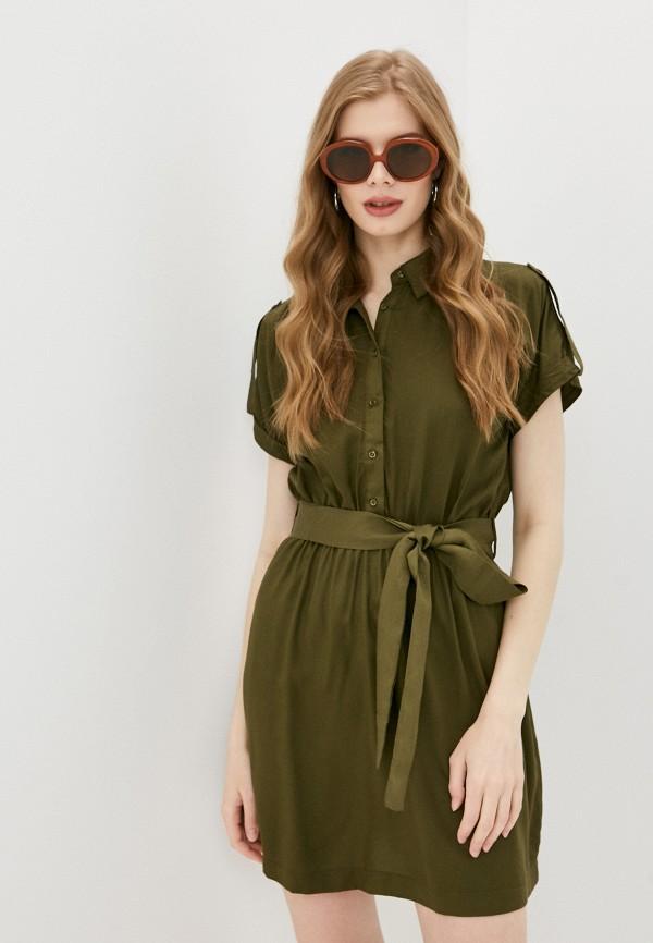женское платье trendyol, хаки