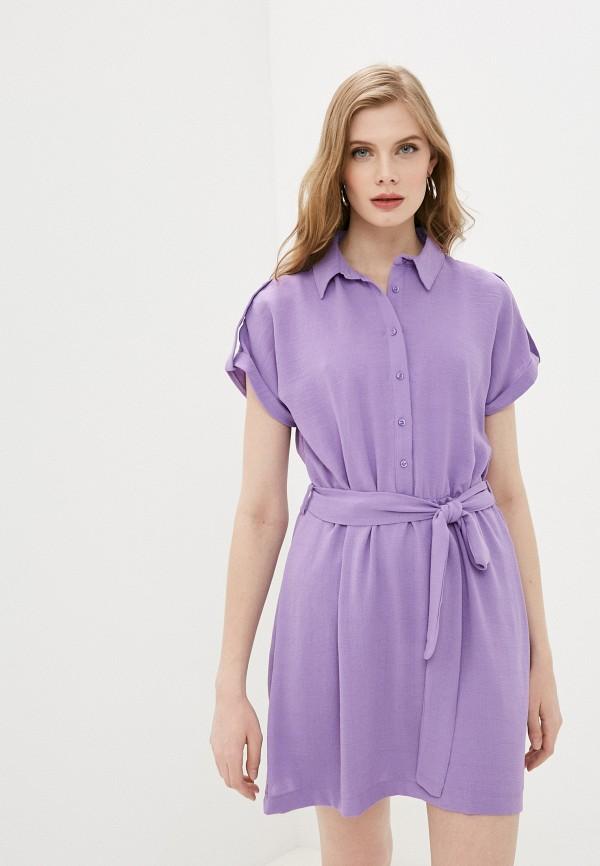 женское платье trendyol, фиолетовое