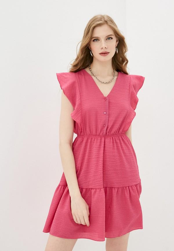 женское повседневные платье trendyol, розовое