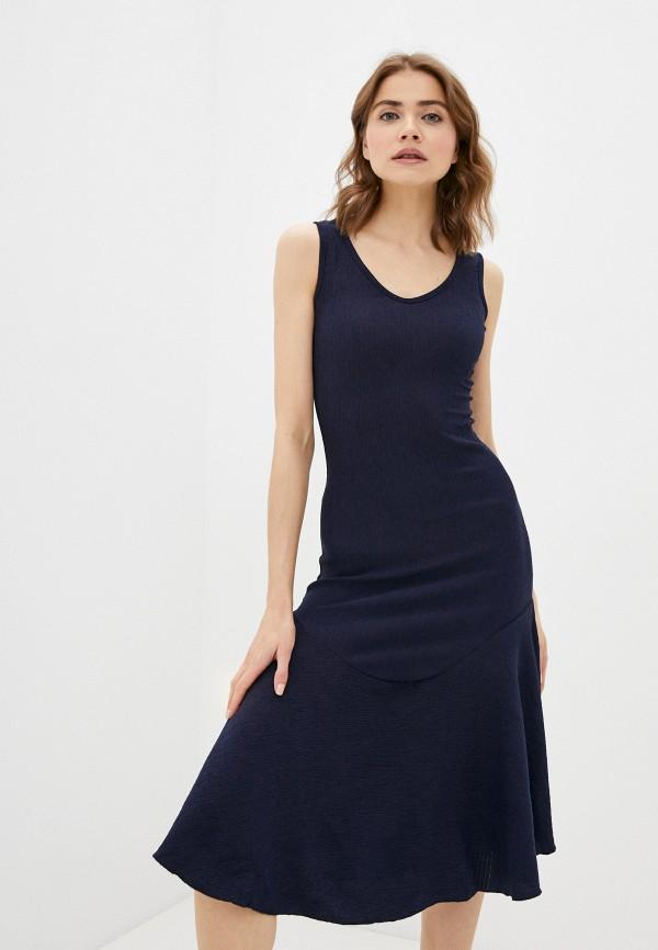 женское платье trendyol, синее