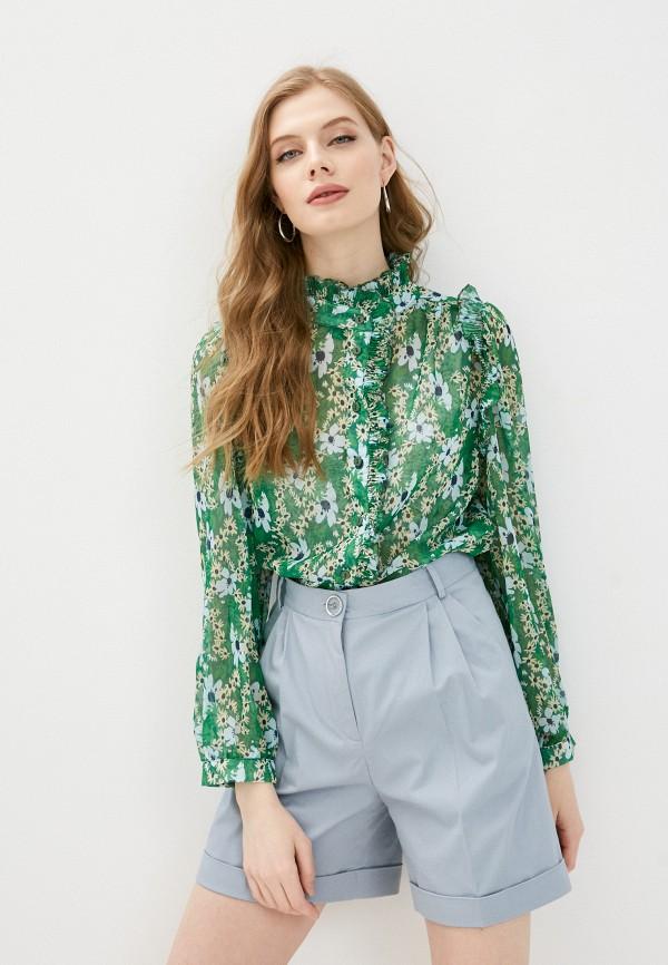 женская блузка trendyol, зеленая