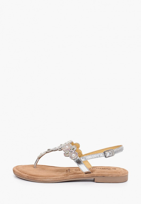 женские сандалии tamaris, серые