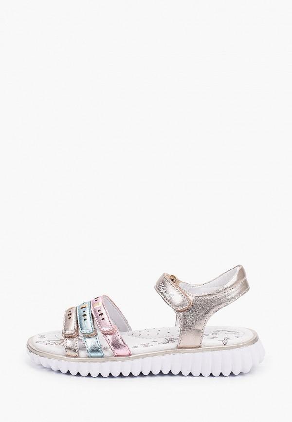 сандалии kapika для девочки, разноцветные