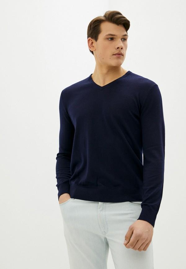 мужской пуловер banana republic, синий