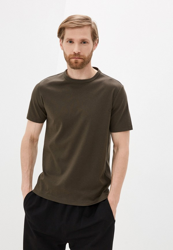 мужская футболка с коротким рукавом banana republic, хаки