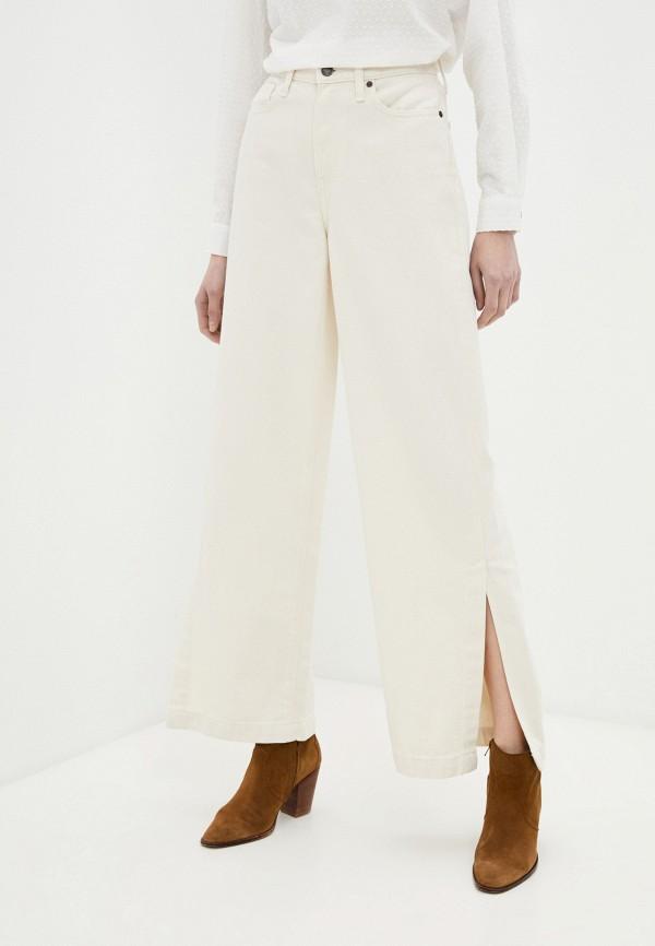 женские повседневные брюки banana republic, бежевые