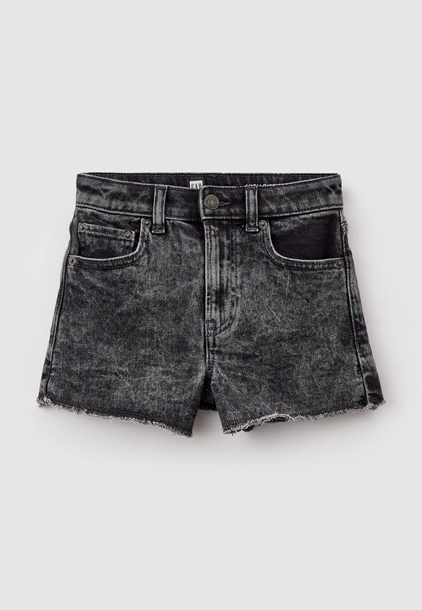 джинсовые шорты gap для девочки, серые