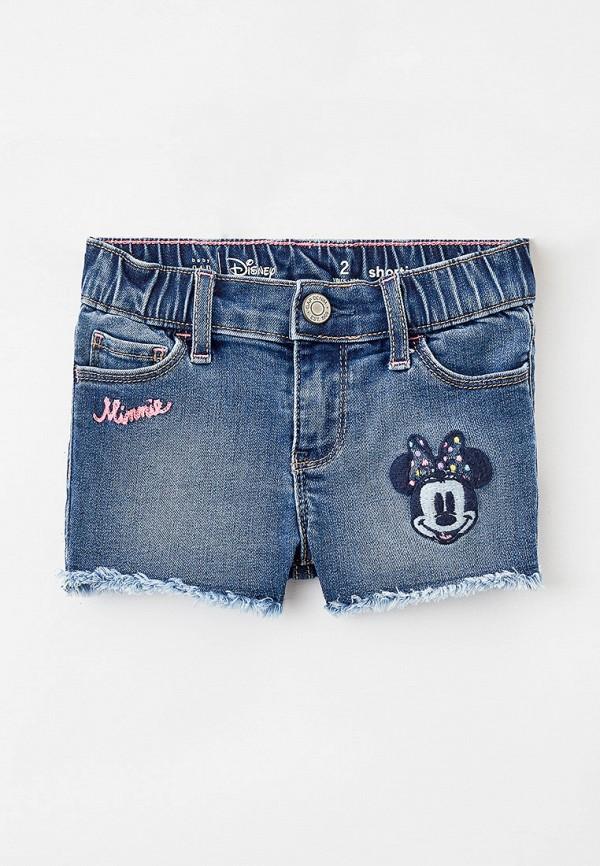 джинсовые шорты gap для девочки, синие