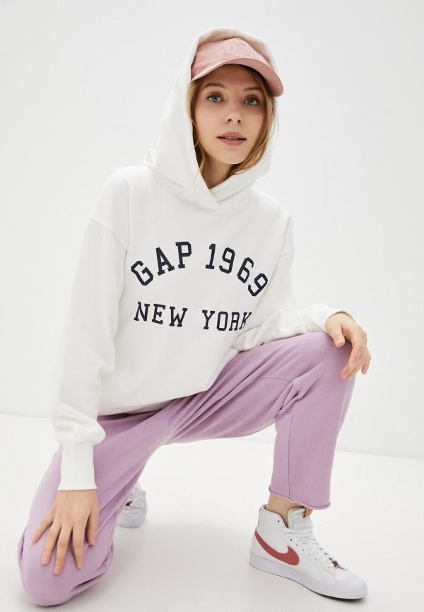 женские худи gap, белые