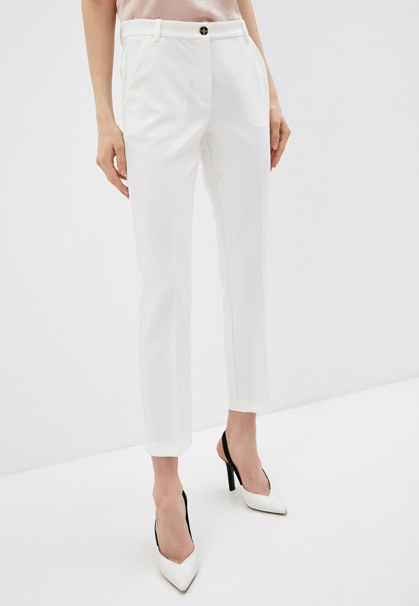 женские повседневные брюки pinko, белые