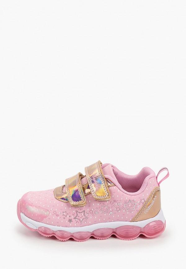 кроссовки kapika для девочки, розовые