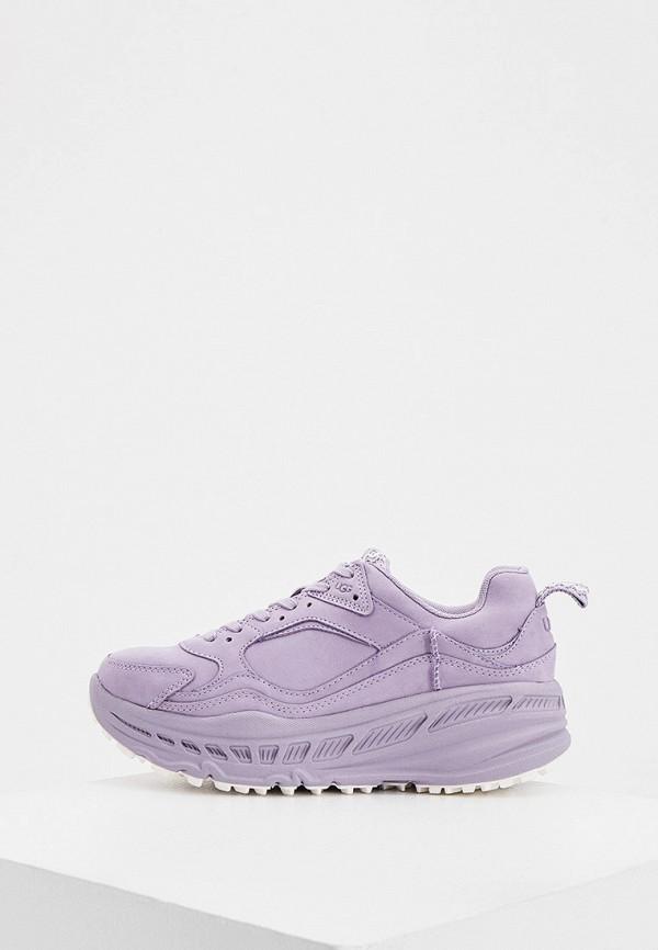 женские кроссовки ugg, фиолетовые