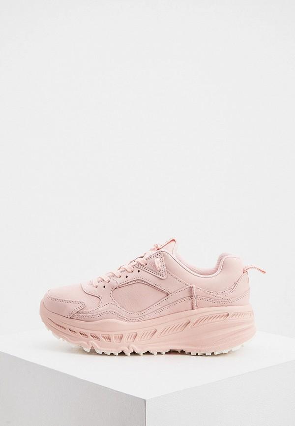 женские кроссовки ugg, розовые