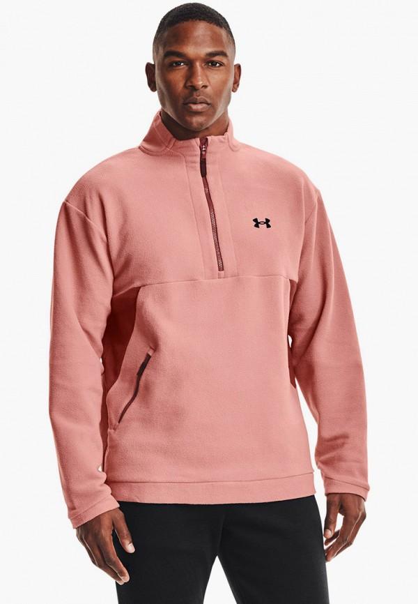 мужская спортивные олимпийка under armour, розовая