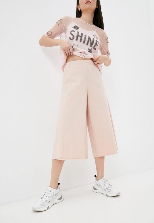 женские брюки beatrice.b, розовые